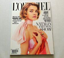 Natalia Vodianova L'Officiel Paris Magazine March 2013 New