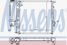 Kühler, Motorkühlung für Kühlung NISSENS 60623A
