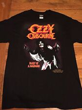 NEW 90s OZZY OSBOURNE CONCERT T SHIRT Diary of a Madman Limited 80s L VTG