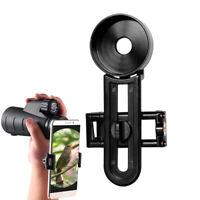 Universal Cell Phone Holder Interface Bracket Mount for Binocular Monocular 42mm