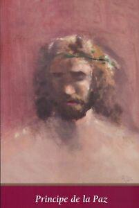 Principe De La Paz - The Prince of Peace, Jesus - Thomas Kinkade Dealer Postcard