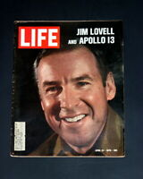 LIFE MAGAZINE APRIL 24 1970 JIM LOVELL APOLLO 13