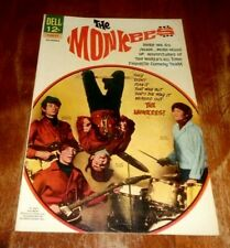 THE MONKEES # 6 VF+ (1967 DELL)  DO IT AGAIN !.