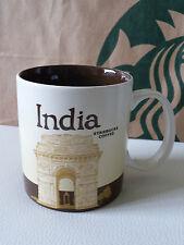 "Starbucks City Mug/Tasse INDIA / INDIEN, 16 Oz., ""Global Icon"""