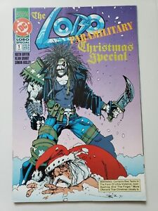 THE LOBO PARAMILITARY CHRISTMAS SPECIAL #1 (1991) DC ONE-SHOT SIMON BISLEY ART!