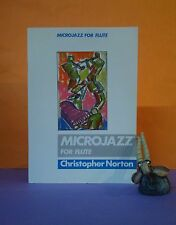 C Norton: Microjazz for Flute (Boosey & Hawkes) sheet music/jazz/flute & piano