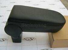 Black Leather Central Console Armrest for 99-04 VW Golf Jetta Bora R32 GTI mk4