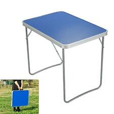 Portable Adjustable Aluminum Alloy Folding Table Camping Outdoor Picnic BBQ