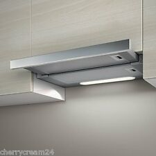 Elica Elite 14 LUX GRIX/A/ 60cm Built In Stainless Steel Motor Cooker Hood