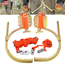 Tree Climbing Gear Spike Set Tool f/ Hunting Survival Electrician w/ Safety Belt