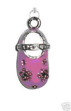 Cell Phone Charm-Pink Baby Shoe