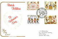 6 FEBRUARY 1981 FOLKLORE COTSWOLD FIRST DAY COVER FESTIVAL SHS