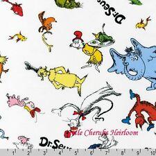 Dr Seuss The Cat in the Hat Celebrate Seuss Celebration Fabric