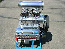 372 C.I. SMALL BLOCK CHEVY BLOWER SUPERCHARGER MOTOR COMPLETE NEW