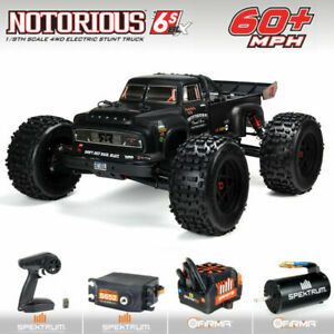 New Arrma 2021 1/8 Scale V5 Notorious 6S BLX Truggy RC Truck RTR Ready To Run