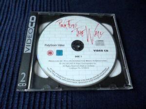 VIDEO 2x DISC VCD CD-I ALAN PARKER Pink Floyd THE WALL Rare Polygram 1994