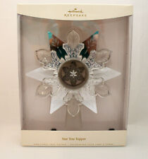 "Hallmark Keepsake 2006 Star Tree Topper - Beautiful - 9.5"" H - #Qfm3273-Sdbnt"