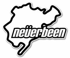 NEVERBEEN Self Adhesive Car Sticker/Decals/Graphics by Stickers4