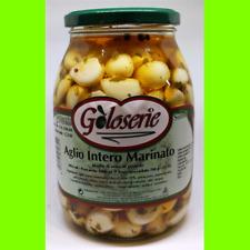 Aglio Marinato di Calabria Prodotti Tipici Calabresi Gr1062