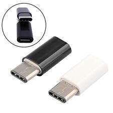 USB 3.1 Tipo C Macho a Micro USB Hembra Adaptador Convertidor Conector de da*ws