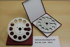 Tonbandspule 1 Paar,  18 cm für Sony, Akai, Grundig, Revox, Teac -NEU- Nr. LA4
