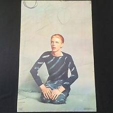 Rare Vintage 1976 David Bowie Original Poster by Steve Schapiro