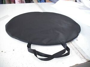 Mobile pop up spray tanning tent replacement bag carrying case black