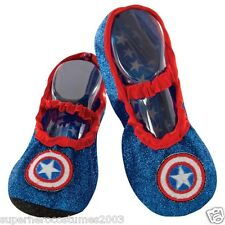 Avengers Captain America Toddler American Dream Slipper Shoes Marvel 35649