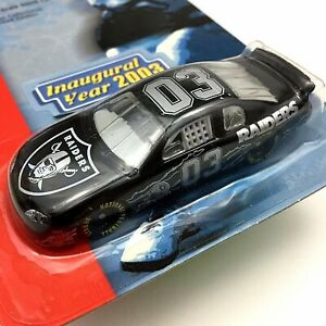 NFL Raiders 1:64 Diecast Scale Stock Car 2003 Free Shipping