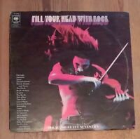 Various – Fill Your Head With Rock 2× Vinyl LP Sampler Gate 1970 CBS SPR/39/40