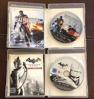 Battlefield 4 & Batman Arkham City Games Playstation 3