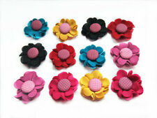 30Pcs NEW Pet Hair Bows With Rubber Bands Dog Accessories