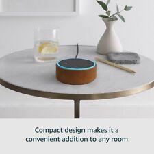 2017 Amazon Echo Dot (2nd Generation), Black - International Version, UK power