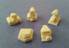NEW! HO Scale Slot Car Blower Engine Stack Style hood Scoops - Lot #8