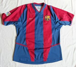 FC BARCELONA Nike Home Shirt 2002/03 (M)