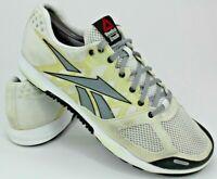 Reebok Crossfit Nano 2.0 Athletic Training Shoes, Men 8.5 / Women 10, Grey Black
