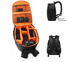 Waterproof DSLR Camera Backpack Shoulder Bag Case For Canon / Nikon /Sony Orange