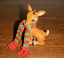 "RUDOLPH THE RED-NOSED REINDEER 3.5"" pvc Figure Ornament 2008"