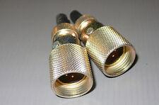 2 CONNECTEURS  SOCAPEX  fmd 14v  7736 / 4 pin male