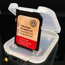 VW Skoda Seat Stam 315 carte SD de navigation Sat Nav Map V9 Az Europe UK 2017 - 2018