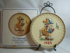 Hummel Plate #277 Little Helper 1984
