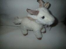 Suma Collection Soft Goat White Plush Soft Toy Sitting Small Teddy
