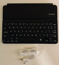LOGITECH ULTRA THIN MAGNETIC CLIP-ON BLUETOOTH KEYBOARD COVER IPAD AIR 820005900