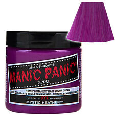 Mystic Heather Purple Manic Panic Classic Hair Dye Bright Colour Rockabilly