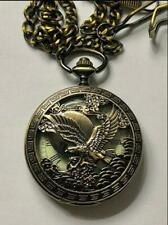 Mechanical double-shell watch eagle pocket watch