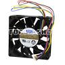 1pc AVC  DBTA0825B2U  Fan 80*80*25mm 12V 0.54A 4pin PWM