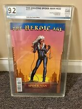 THE AMAZING SPIDER-MAN #632 BLACK CAT VARIANT COVER PGX 9.2