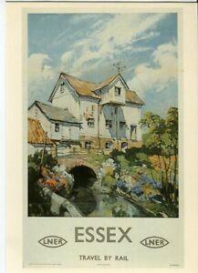 Drumahoe Postcard LNER Essex DGR69 repro poster Buckle