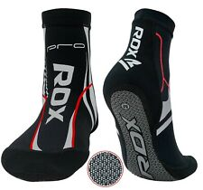 RDX MMA Grip Training Fight Socks Boxing Foot Ankle Shin Boots Shoes Guards AU