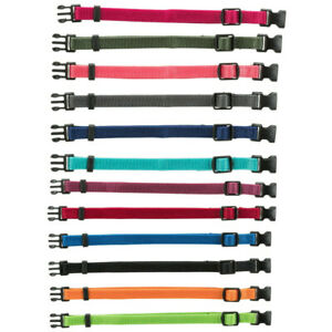 Trixie Puppy Whelping Collars soft nylon adjustable 12 colours S/M M/L Welping